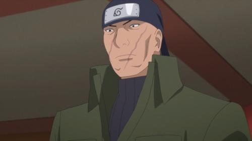 Ibiki Morino from the anime series Boruto: Naruto Next Generations