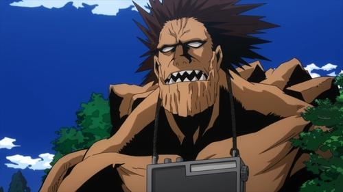 Gigantomachia from the anime series My Hero Academia season 4