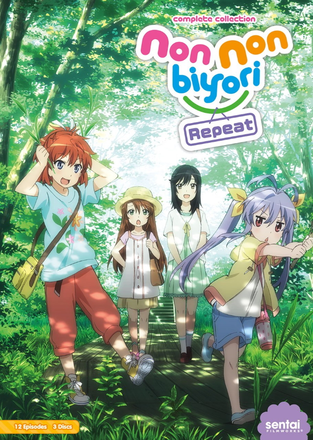 Non Non Biyori Repeat anime series cover art