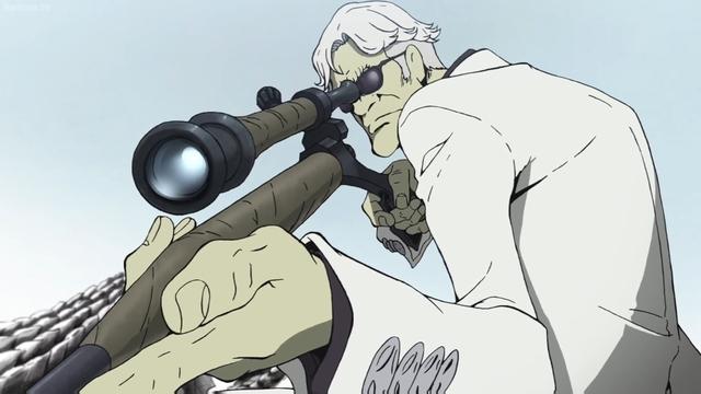 Yael Okuzaki from the anime movie Lupin the IIIrd: Jigen's Gravestone