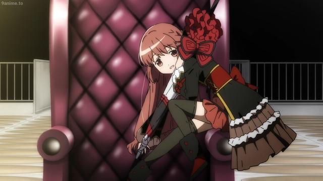 Touka Satomi from the anime series Madoka Magica: Magia Record