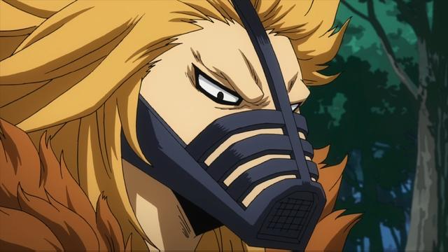 Pro hero Hound Dog from the anime series My Hero Academia season 4