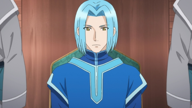 The head priest from the anime series Ascendance of a Bookworm season 2