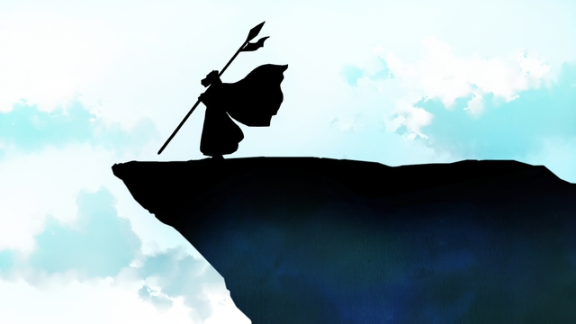 Rak's Silhouette from the anime series Tower of God