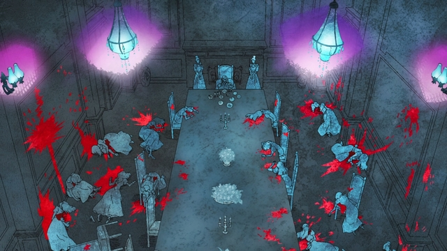"""Endorsi's memory of killing her """"sisters"""" from the anime series Tower of God"""