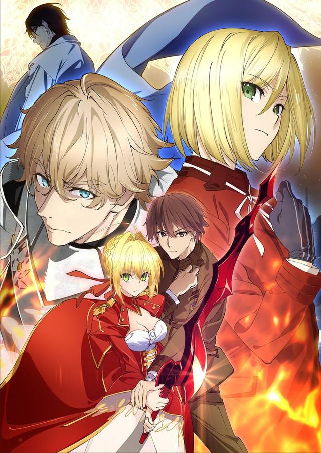 Fate/Extra: Last Encore: Illustrias Geocentric Theory anime series cover art