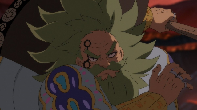 Chandler from the anime series The Seven Deadly Sins: Wrath of the Gods