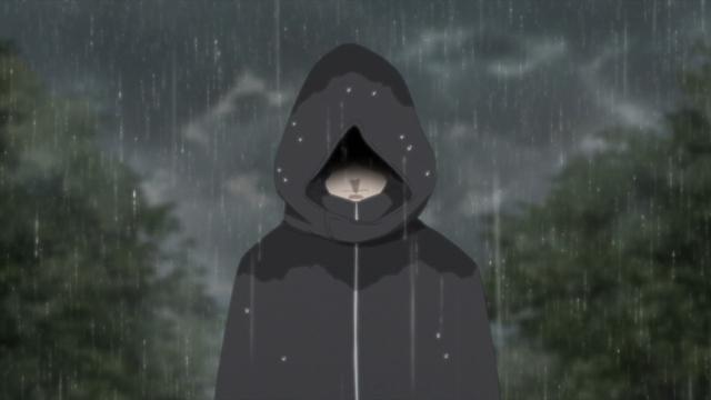 """The """"Rainy Day Killer"""" from the anime series Boruto: Naruto Next Generations"""