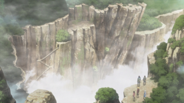 The Land of Valleys from the anime series Boruto: Naruto Next Generations