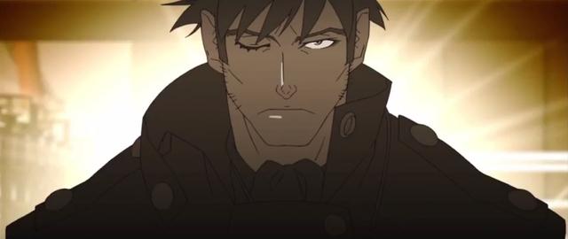 Guillotine Cutter in the Kizumonogatari anime movie