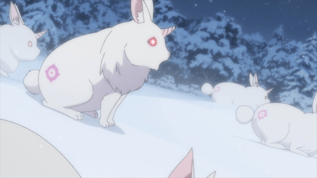 Rabbit mabeasts from the anime series Re:ZERO season 2