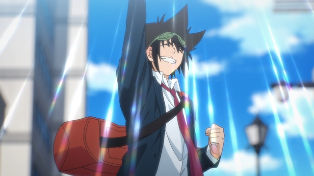 Jin Mori from the anime series The God of High School