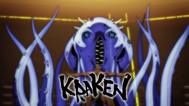Lee Marin activating his Kraken Charyeok from the anime series The God of High School