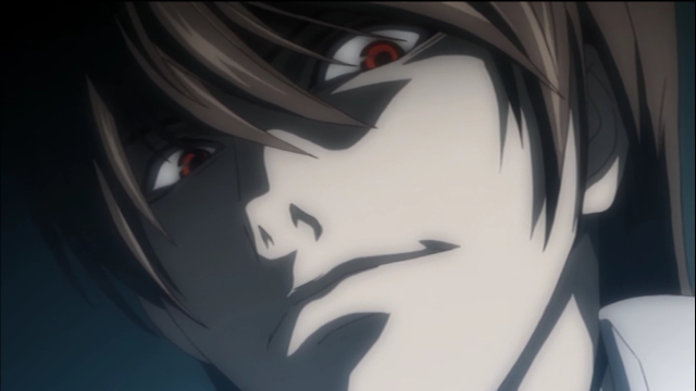 Light Yagami from the anime series Death Note