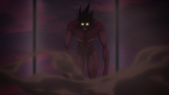 The Demon Charyeok from the anime series The God of High School