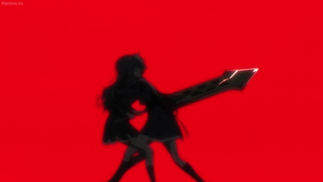 Yuyu stabbing Misuzu from the anime series Assault Lily: Bouquet
