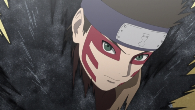 Shinki from the anime series Boruto: Naruto Next Generations