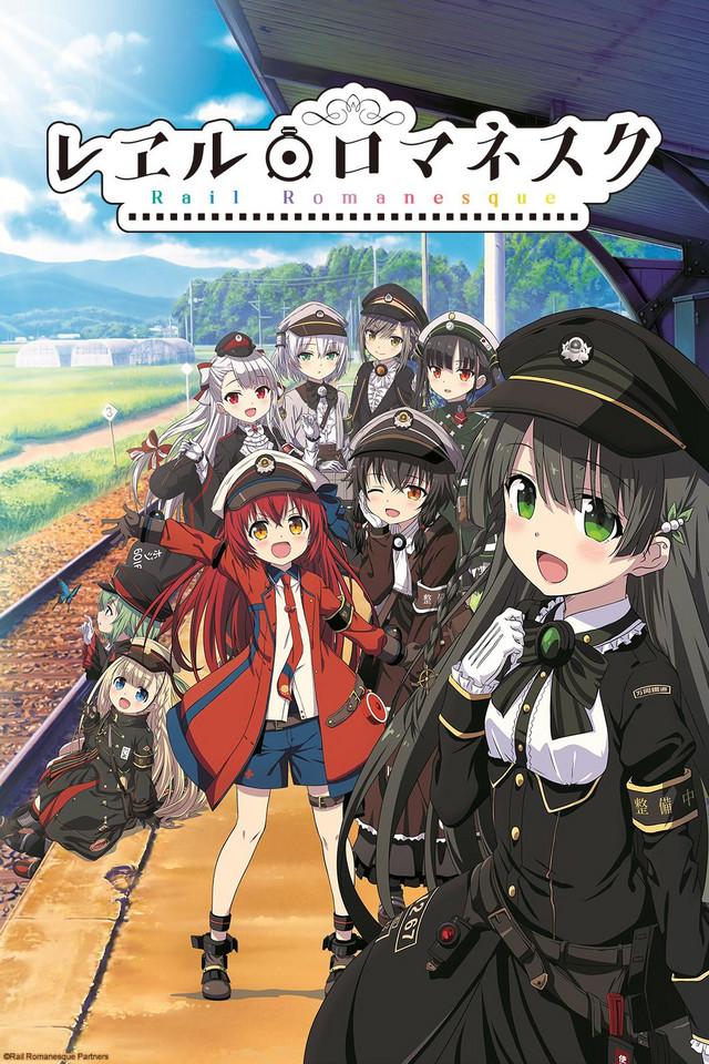 Rail Romanesque anime series cover art