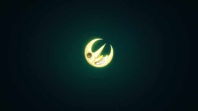 The moon from Soul Eater as seen in the anime series Fire Force Season 2