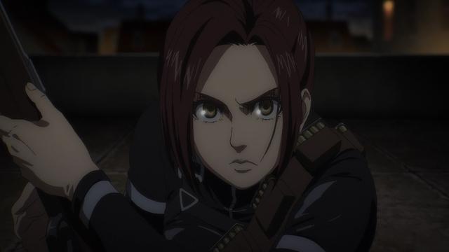 Sasha Blouse from the anime series Attack on Titan: The Final Season