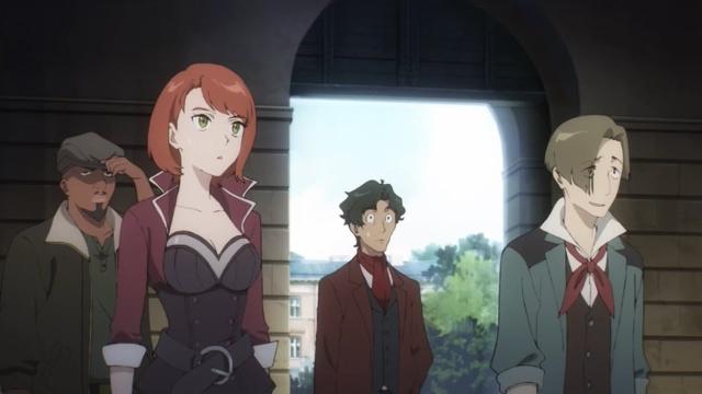 Members of Headkeeper from the anime series Magatsu Wahrheit: Zuerst