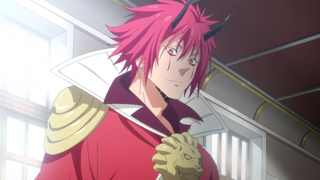 Benimaru from the anime series That Time I Got Reincarnated as a Slime Season 2