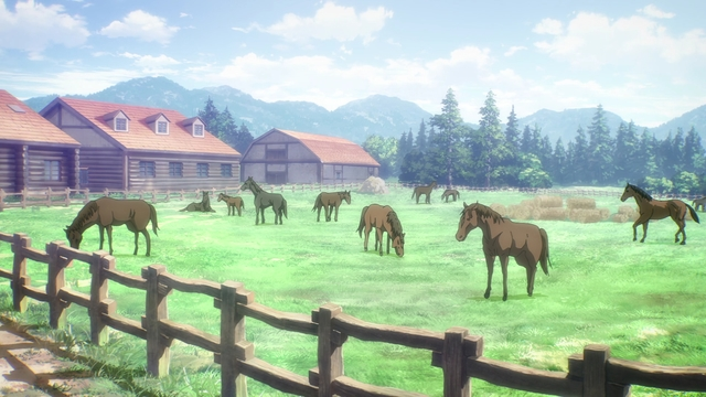 The Blouse Farm from the anime Attack on Titan: The Final Season