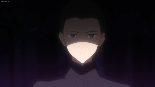 Grandmother Isabella from the anime series The Promised Neverland 2nd Season