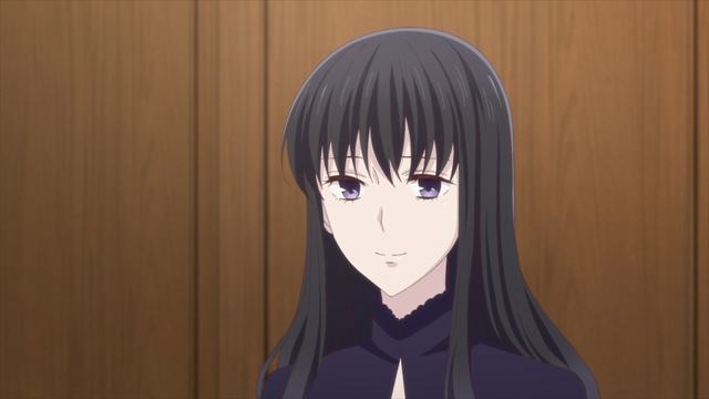 Saki Hanajima from the anime series Fruits Basket The Final Season