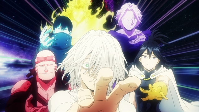 Previous One-for-All wielders from the anime series My Hero Academia Season 5