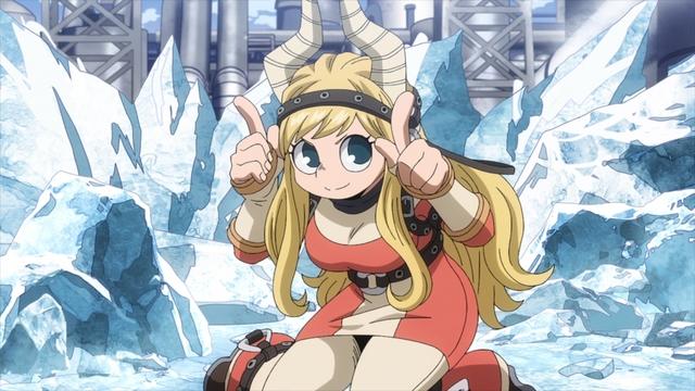 Pony Tsunotori from the anime series My Hero Academia Season 5