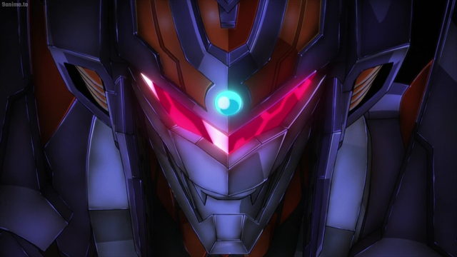 The unknown mech from the anime series SSSS.Dynazenon