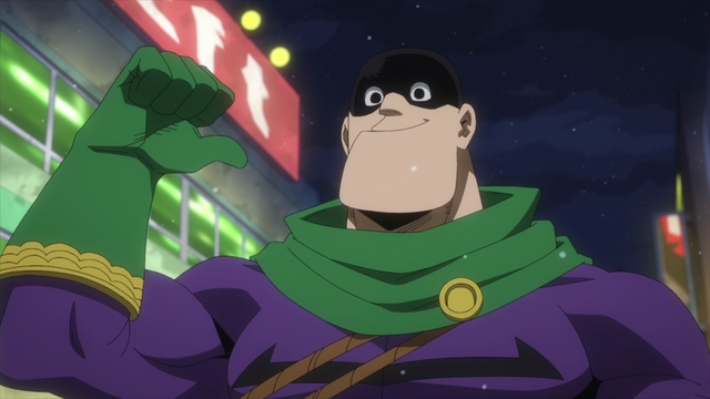 Pro Hero Slidin' Go from the anime series My Hero Academia Season 5