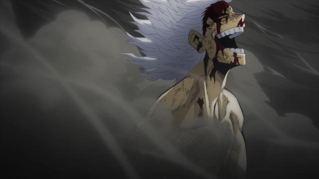 Some unknown villain from the anime series My Hero Academia Season 5