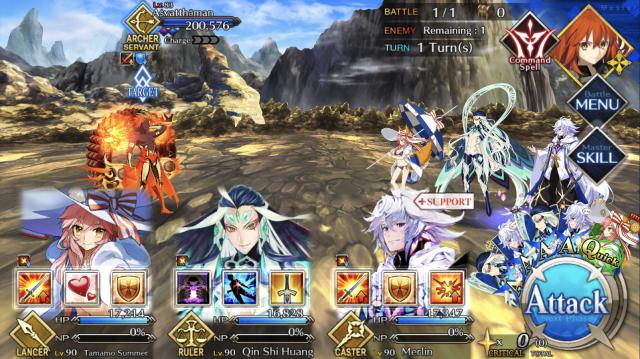 Boss fight against Aśvatthāman from Fate/Grand Order: Lostbelt No. 4 - Yugakshetra