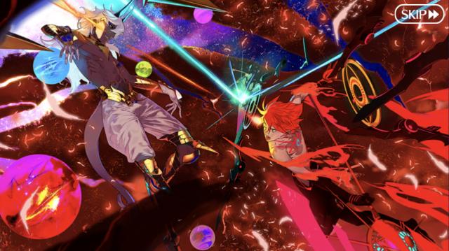 Karna fighting God Arjuna from Fate/Grand Order: Lostbelt No. 4 - Yugakshetra
