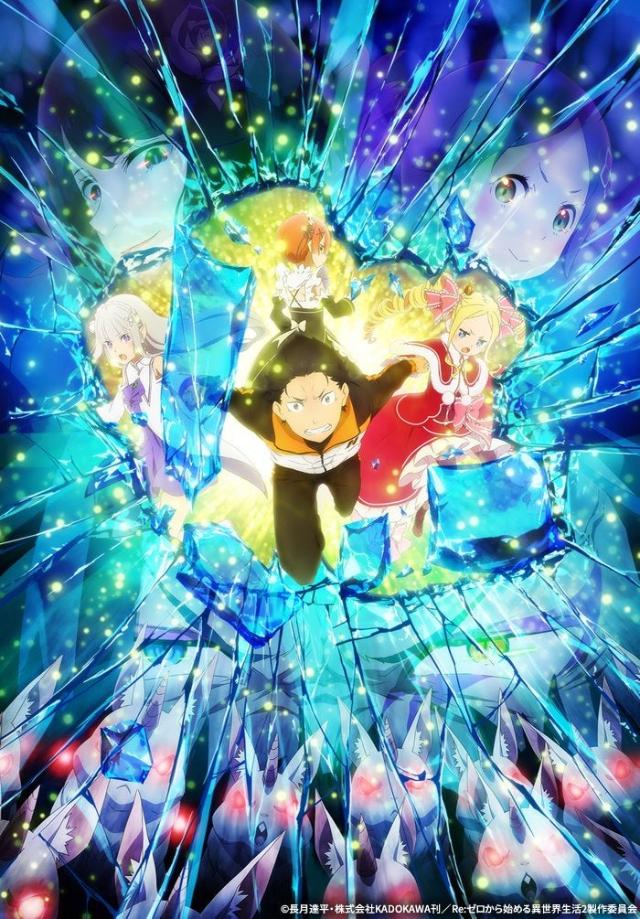 Re:ZERO Season 2 Part 2 anime series cover art