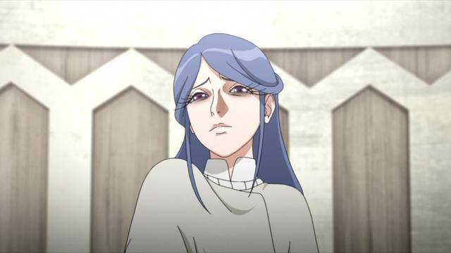 Inori, one of Boro's most loyal followers from the anime series Boruto: Naruto Next Generations