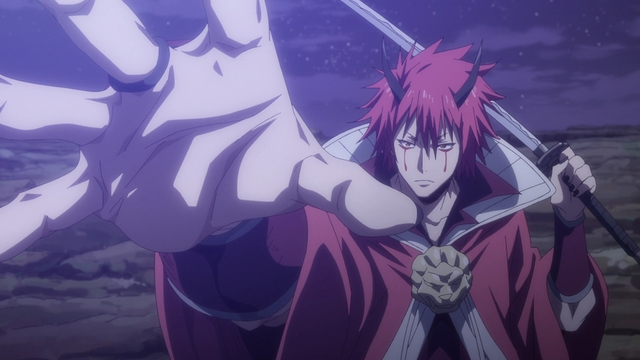 Benimaru casually being a demon lord from the anime series That Time I Got Reincarnated as a Slime Season 2 Part 2
