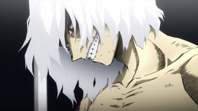 Shigaraki Tomura from the anime series My Hero Academia Season 5