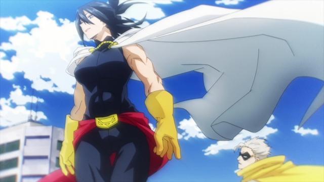 Nana Shimura (and Gran Torino) from the anime series My Hero Academia Season 5