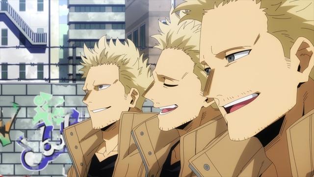 Jin Bubaigawara from the anime series My Hero Academia Season 5