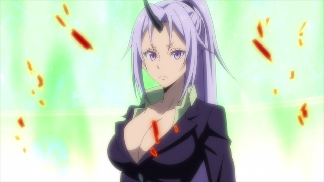 Shion from the anime series That Time I Got Reincarnated as a Slime Season 2 Part 2