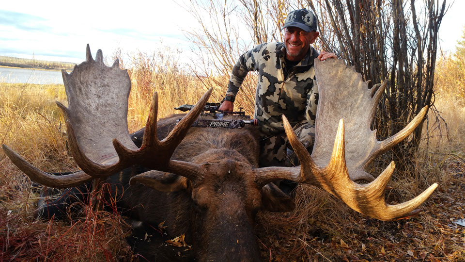 Trophy Alaskan Moose Hunts