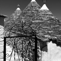 Trulli Intricate: The Roofs of Alberobello