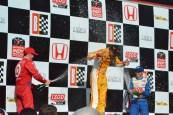 Ryan Hunter-Reay wins at Barber 2013