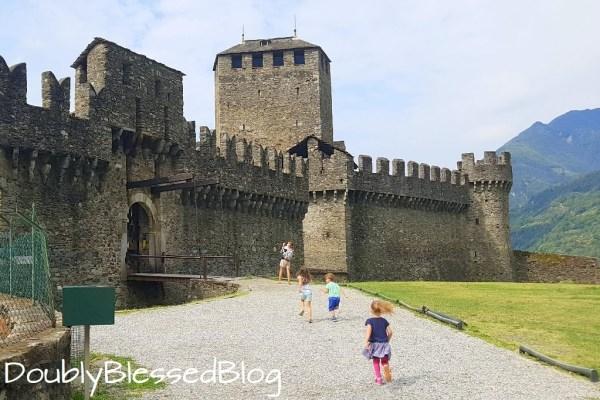 Familienferien im Tessin - Castello Montebello