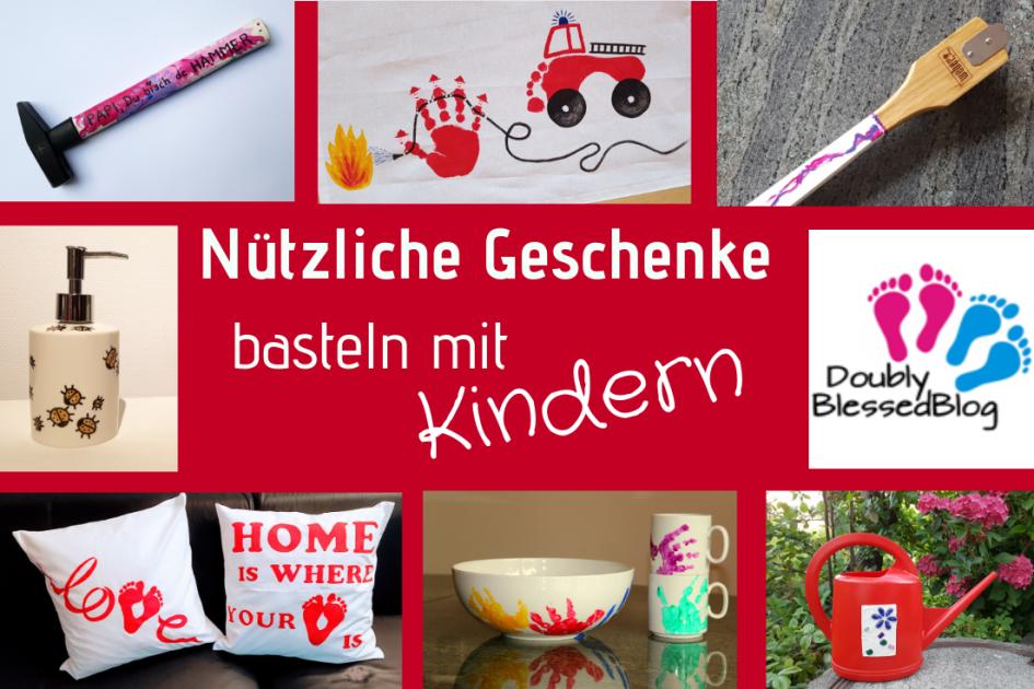 Nutzliche Geschenke Basteln Mit Kindern Doublyblessedblog