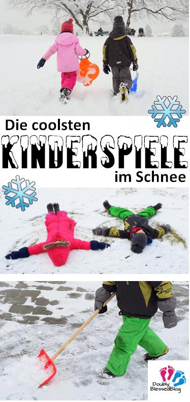 Pinterest Kinderspiele im Schneee