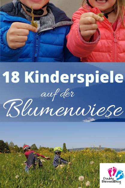 18 Kinderspiele auf der Blumenwiese